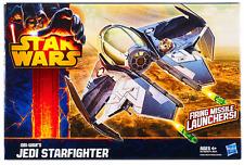 Star Wars Clone Wars Obi-Wan Kenobi Jedi Starfighter Barco