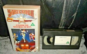 Saber Rider And The Star Sheriffs - It's How The West Will Be Won VHS Video 1987