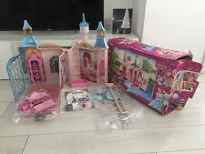 Disney Princess Cinderella Castle enorme Playset parzialmente non utilizzati W BOX Simba Toys