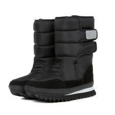 Winter Women Warm Waterproof Platform Flat Shoes Magic Sticker Snow Boots NEW