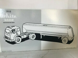FIRST GEAR 1/34 WHITE 3000 TANKER NIB NEVER OUT OF BOX, OR DISPLAYED 19-1986