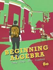 Beginning Algebra by Tobey, Slater, Blair, Crawford