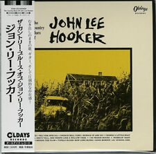 John Lee Hooker-the Country Blues Of-japan Mini LP CD Bonus Track C94