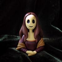 RED CAPSULE Scream 4Ever Series 1 Mini Figure Mona Lisa Designer Art Toy New