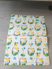Hello Kitty Verde Amarillo Usado Envoltorio De Plástico Bolsa De Regalo portador recoger Lindo