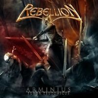 REBELLION - ARMINIUS: FUROR TEUTONICUS  CD  12 TRACKS HEAVY METAL  NEU