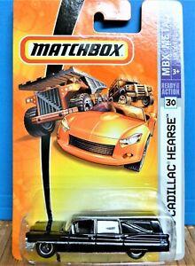 MATCHBOX 1963 CADILLAC HEARSE, MBX METAL SERIES #30, 2008 MFG YEAR