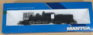 HO SCALE MANTUA  313-20 MOGUL Pennsylvania 2-6-0 Locomotive and Tender In Box