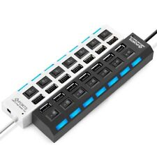 Micro USB Hub Splitter Adapter Peripheral Accessories For Tablet Laptop