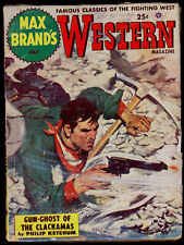 MAX BRAND'S WESTERN MAGAZINE (7/1952) PHILIP KETCHUM, MARVIN De VRIES, CY KEES