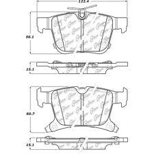 Disc Brake Pad Set fits 2017-2019 Chrysler Pacifica  C-TEK BY CENTRIC