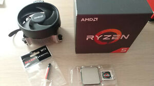 AMD Ryzen 5 1600 Stepping AF 3.2GHz 16MB AM4 + fan cooler + free thermal grease