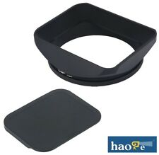 haoge 67mm Metal Lens Hood + Cap for Nikon 35 1.4G 35/1.4G 35mm f1.4G Lens