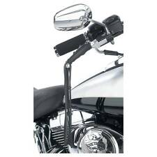 Motorcycle Lever Covers Solid Leather Fringe New Black Biker