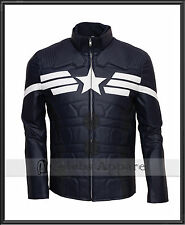 Captain America: The Winter Soldier Chris Evans Leather Jacket