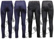 Ladies Women Stretchy Legging Denim Jeggings Jeans Pants Skinny Plus Size 8-26
