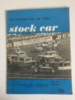 Stock car racing magazine No.23 April 1971