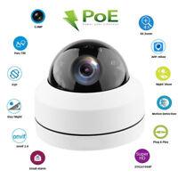 PTZ IP Camera 5MP 4X Optical Zoom P2P POE 30M IR Onvif Mini IP66 Pan Tilt Dome