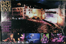 Simple Minds 1987 Live In The City Of Lights Original Promo Poster