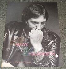ALLAN HOLDSWORTH Japan tour book No.2 CONCERT PROGRAMME Yes BILL BRUFORD UK