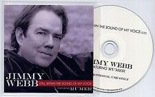 JIMMY WEBB ft RUMER Still Within The Sound Of My Voice UK promo test CD