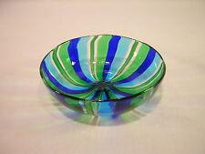 "Italian Art Glass 4 1/8"" Ribbon Bowl"