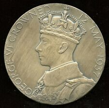 Great Britain Silver Medal 1937 Coronation of King George VI and Queen Elizabeth