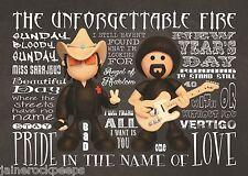 Inspired by U2 Bono Edge Greeting Birthday Card