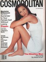 Cosmopolitan Magazine June 1993 Christy Turlington Marianne Williamson102819AME2