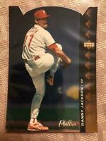 1994 SP Die-cut Danny Jackson #137 Philadelphia Phillies Rare SP Insert