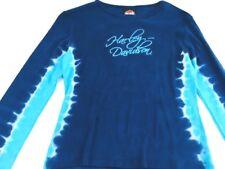 Harley Davidson shirt Women's Harley shirt Tye Dye shirt Biker shirt Harley tee