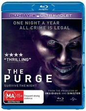 The Purge Blu-ray: B (Europe, AU, NZ, Africa...) DVDs & Blu-ray Discs