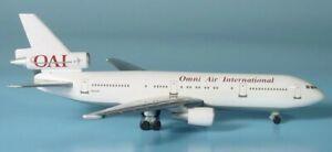 Herpa Wings 500289 Omni Air International Douglas DC-10 1/500 Scale Diecast