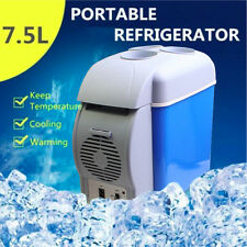 7.5L Portable Car Fridge Freezer Cooler Warmer 12V Camping Caravan Refrigerator
