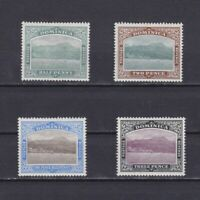 DOMINICA 1903, Sc# 25-29, part set, CV $27, Nature, MH