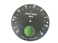 NOS Smiths RSM3003/10A Tachometer Face Dial Norton Commando Roadster W2913