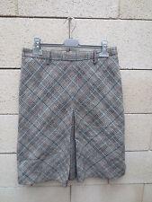 Jupe ZARA Basic gris hiver skirt 40 USA 8 Mex 30