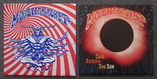 "2 MONSTER MAGNET 7"" Blue: Multi Vinyl 45's EVIL ""Cage Around The Sun"" SUPERJUDGE"