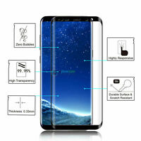 For Samsung Galaxy S9 S8 Plus/Note 8 Tempered Glass Screen Protector Full Cover#