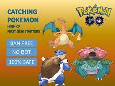 Pokemon Go GEN I Charizard Blastoise Venusaur Catching High CP 100% SAFE
