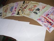 Pack of 10 Greeting/Notelet Cards   [ Blank inside ]