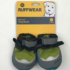 Ruffwear Forest Green Polar Trex Dog Boots sz 3.0in. 76mm.