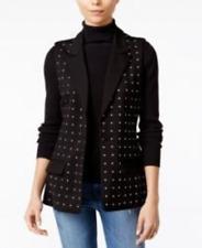Fair Child New Studded Sleeveless Vest Black Size S