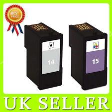 2 Ink Cartridge for X2600 X2630 X2650 X2670 Z2300 Z2310 Z2320 Replac NO.14 NO.15