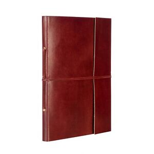 Fair Trade Handmade Plain Extra Large Leather Photo Album - 2nd Quality