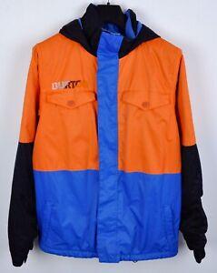 Burton Teen Youth XL Ski Jacket Hooded Snowboard Insulated Colorblock Coat RA21