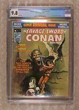 Savage Sword of Conan Annual #1 CGC 9.8 1975