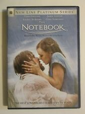 The Notebook Ryan Gosling Rachel McAdams Love Story DVD