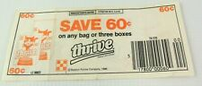 Vintage 1986 THRIVE CAT FOOD Coupon