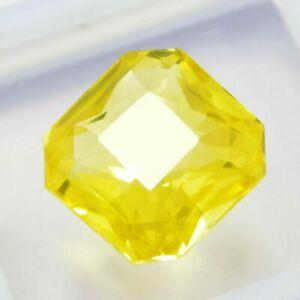 10 Ct 100%Natural IGL Certified Precious  Yellow Ceylon Sapphire Loose Gemstone